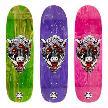 "Welcome Skateboards - 9.25"" Hog Wild on Boline Deck (Various Stains)"