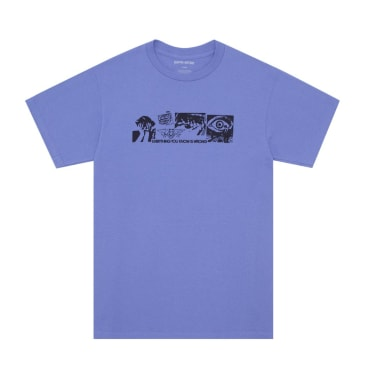 Fucking Awesome Everything You Know T-Shirt - Violet