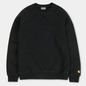 Carhartt WIP - Chase Sweat - Black