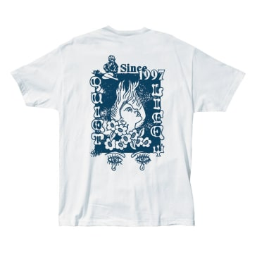 QUIET LIFE Lady Luck Tee White