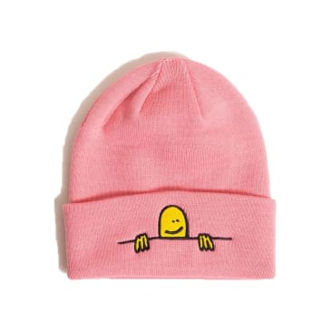 Thrasher - Gonz Sad Logo Beanie Light Pink