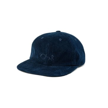 Polar Skate Co Cord Cap - Police Blue