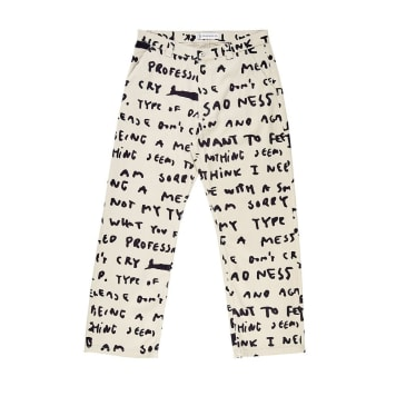 Polar 40's Pants - Sad Notes
