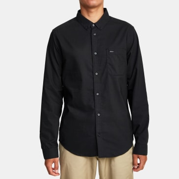 RVCA Thatll Do Stretch Long Sleeve Shirt