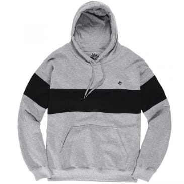 Magenta Skateboards Brodé Hoodie - Heather Grey / Black