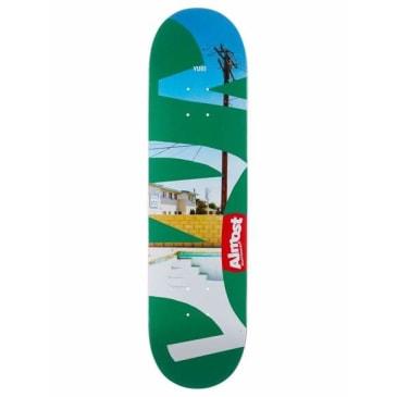 Almost Yuri Fleabag R7 Skateboard Deck 8.25