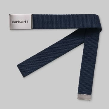 Carhartt WIP - Chrome Clip Belt - Blue