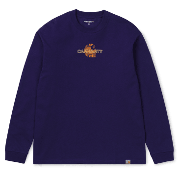 Carhartt WIP L/S Mind T-Shirt - Royal Violet
