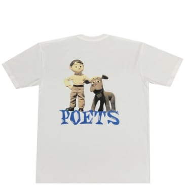 Poets Message T-Shirt - White