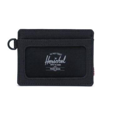 Herschel Charlie ID Wallet Black