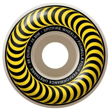 Spitfire Wheels Formula Four Classic 99 Yellow 55mm