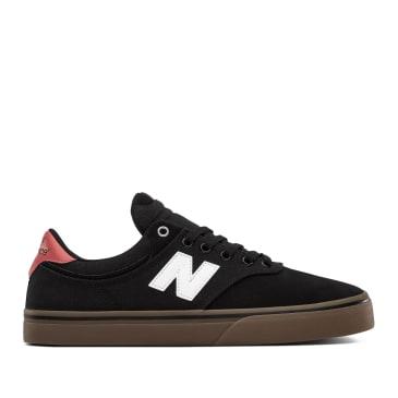 New Balance Numeric 255 Shoes - Black / White