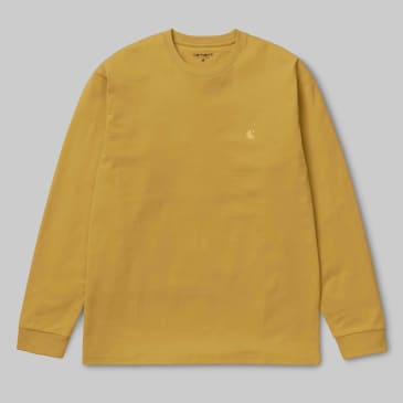 Carhartt WIP - Chase Longsleeve T shirt - Colza / Gold