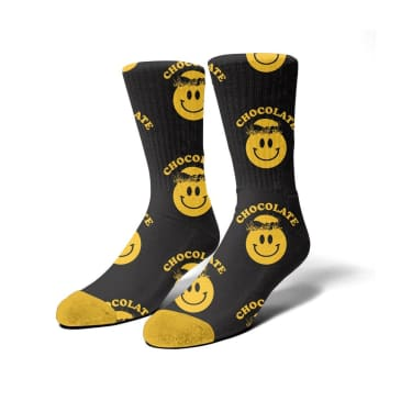 Chocolate Mindblower Socks - Black