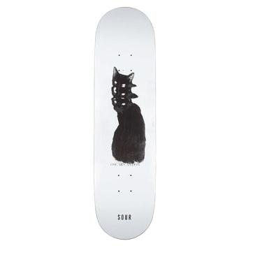 "Sour Oscar Bad Cat Skateboard Deck - 8.375"""