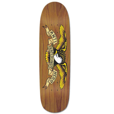 Anti Hero Shaped Eagle Brown Bomber Deck - 8.86""