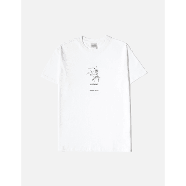 CARTOCON Dance Index T-Shirt - White