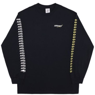 Alltimers Count It Up Long Sleeve T-Shirt - Navy