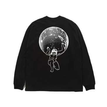 Reception - Pulp Long Sleeve T-Shirt - Black