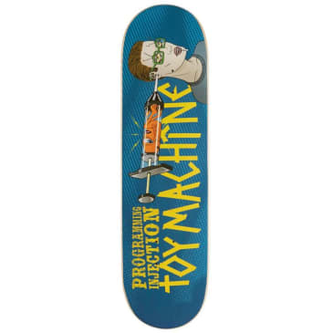 Toy Machine Programming Injection Skateboard Deck - 8.38