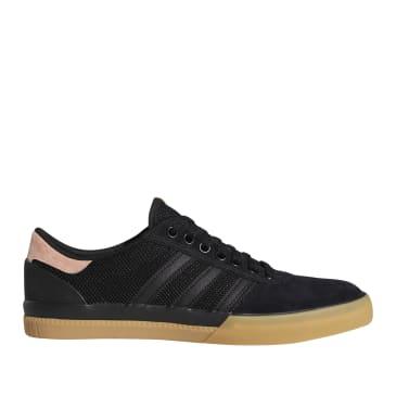 adidas Skateboarding Lucas Premiere Shoes - Core Black / Sun Glow / Gum