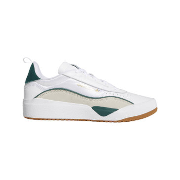 adidas Liberty Cup Skate Shoes - FTWR White / Collegiate Green / Clear Brown