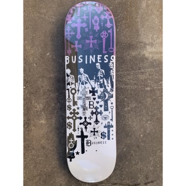 Business & Company Black Church 2 Deck- (8.125-8.75)