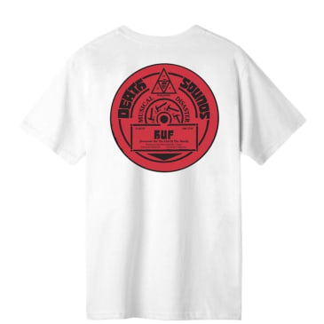HUF Death Sounds T-Shirt - White