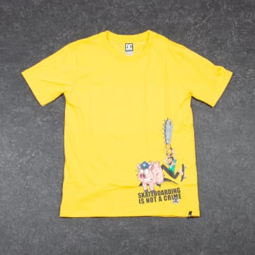 DC No Escape Youth T-Shirt - Yellow