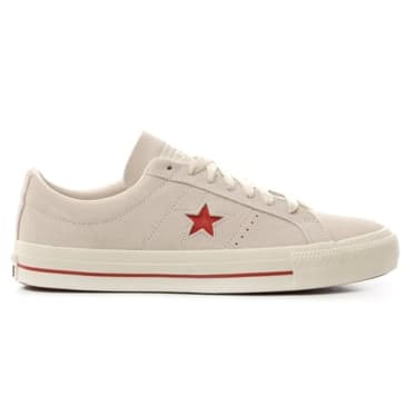 Converse One Star Pro - Off White/Red