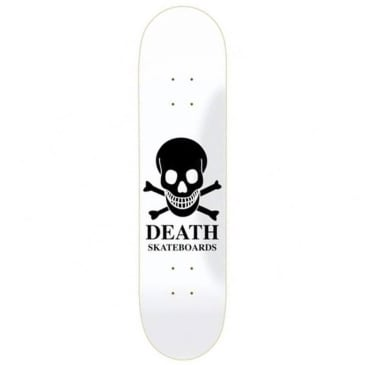 "Death Skateboards - Reverse Logo Deck 8.375"" Wide"