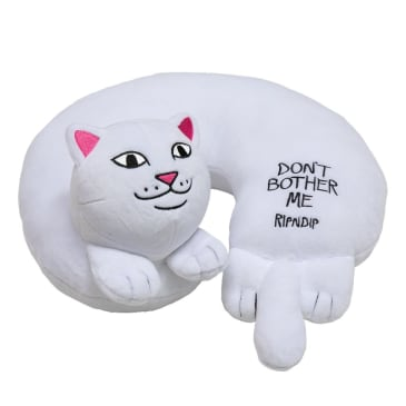 Ripndip Dont Bother Me Travel Neck Pillow - White