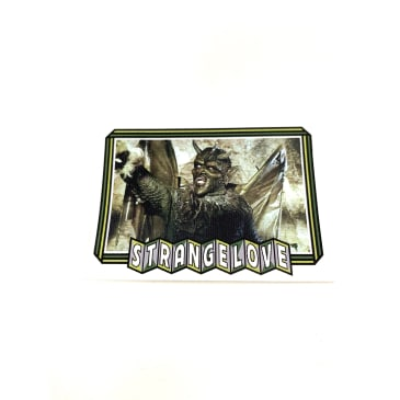 Strangelove Green Monkey Trading Card Sticker