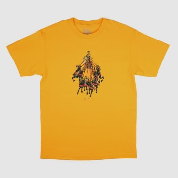 """PASS~PORT """"STATE HORSES"""" TEE GOLD"""