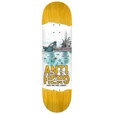 Anti Hero Daan Plastics Deck - 8.18