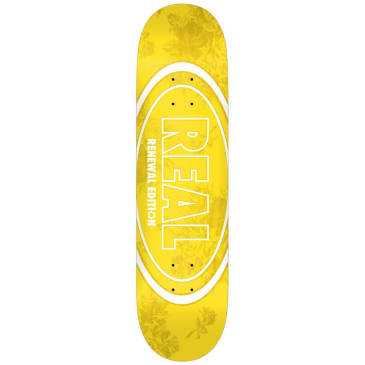 "Real Skateboards - Floral Renewal Deck 7.75"" Wide"