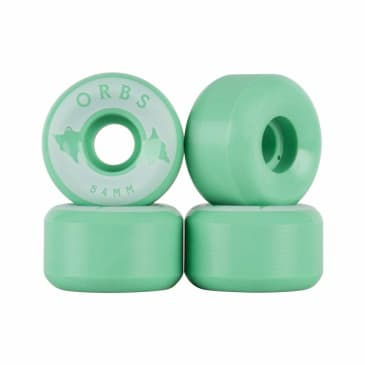 Orbs Wheels Specters Solids Skateboard Wheels Mint - 54mm