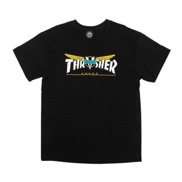 Thrasher X Venture Black Tee