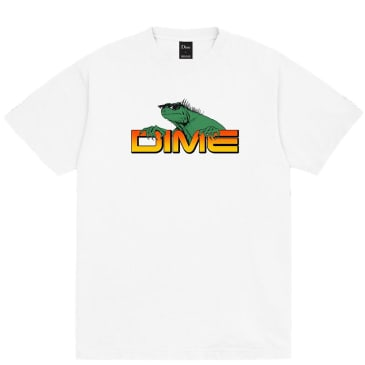 Dime Lizard T-Shirt - White