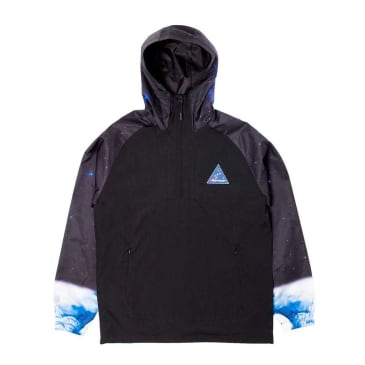 Rip N Dip Galaxy Gypsy Anorak Jacket - Black