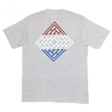 The National Skateboard Co. Division T-Shirt - Grey