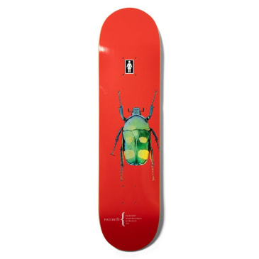 "Girl Skateboards - 8.0"" Brandon Biebel The Beetle Redux Deck"