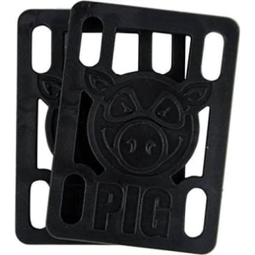"Pig - 1/8"" Hard Risers Black"
