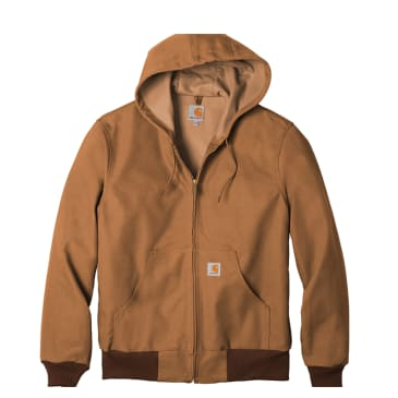 Carhartt Thermal Lined Duck Active Jacket - Khaki