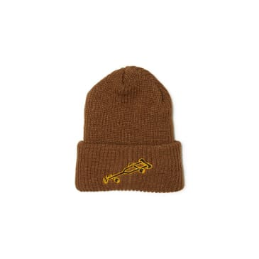 Black Label - OG Crutch Beanie - Coyote Brown