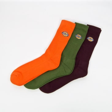 Dickies - Valley Grove Sock Pack (3 Pairs)