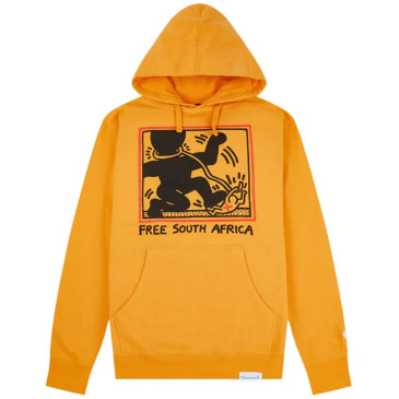Diamond Supply Co. x Keith Haring South Africa Hoodie - Yellow