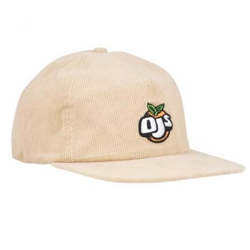 OJ Wheels - Fresh Unstructured Snapback Cap - Tan