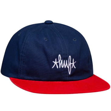 HUF Haze Contrast Six Panel Cap | French Navy