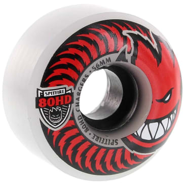 Spitfire - 80HD Charger Classic 56mm Clear/Red